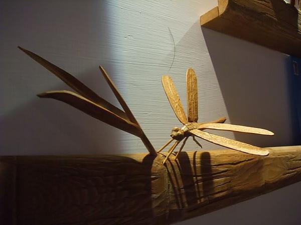 蘭陽博物館-蜻蜓木雕.JPG