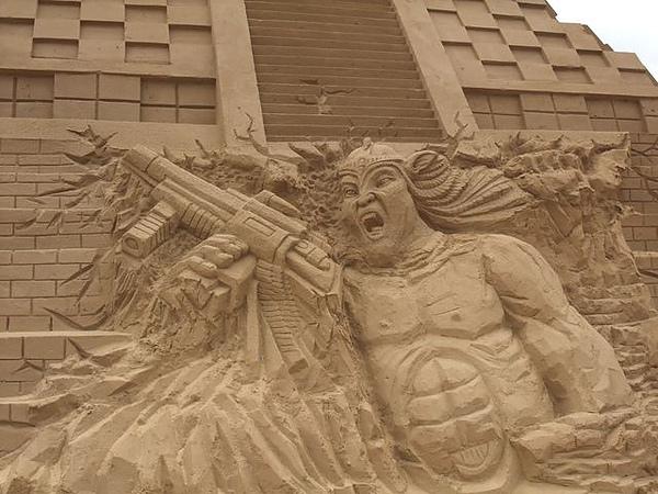 2010沙雕-阿凡達的馬雅世界-發怒阿凡達.JPG