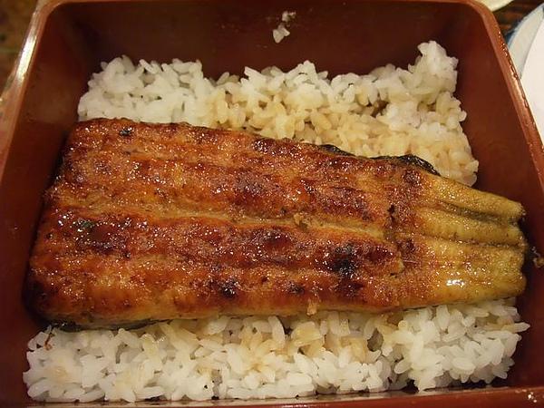鰻魚飯-開盒啦.JPG