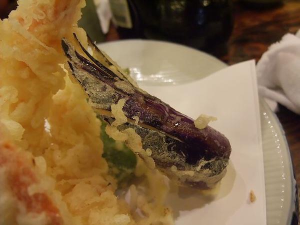 綜合炸蝦盤-茄子.JPG