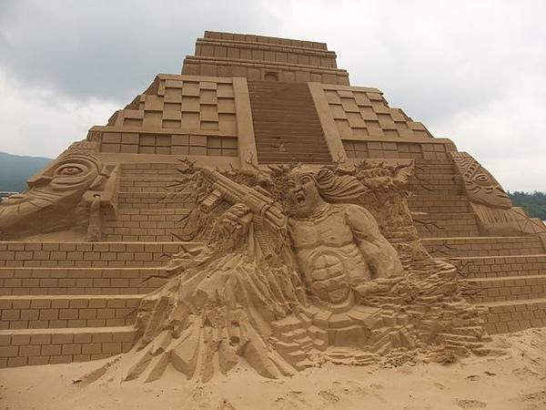 2010沙雕-阿凡達的馬雅世界.JPG