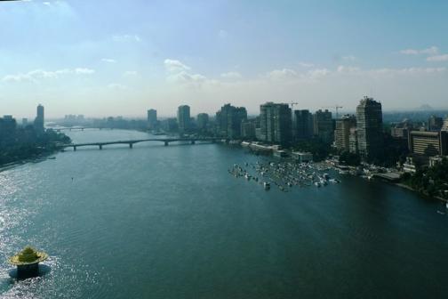 白天的尼羅河
