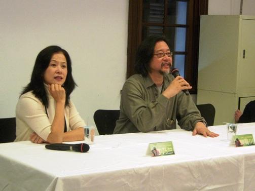 0221光點台北的第一場講座,賴聲川與丁乃竺主講