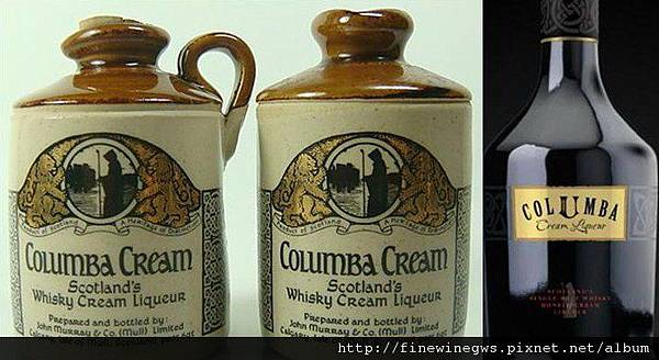 Columba cream新舊瓶身對照圖