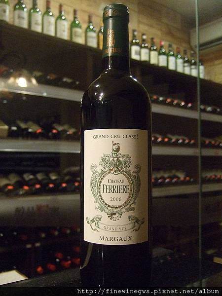 Chateau Ferriere Margaux 2006