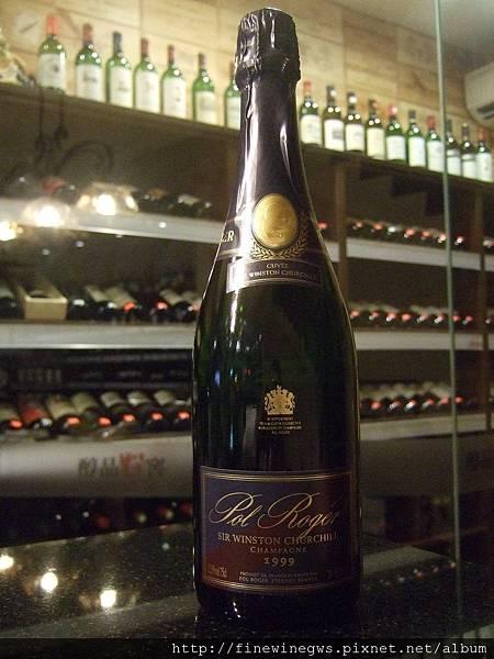 Pol Roger Sir Winston Churchill Champagne 1999