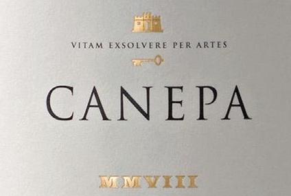 Canepa酒莊的logo,小編還滿喜歡的!