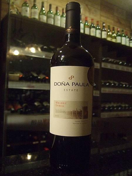 Dona Paula Estate Malbec-Shrah 2010