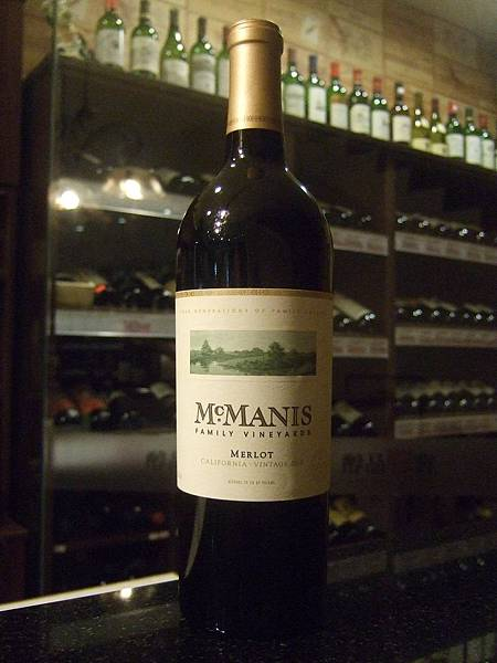 McManis Family Vineyards-Merlot, 2010