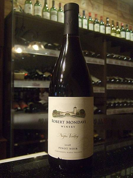 Robert Mondavi Pinot Noir 2008