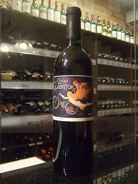 Cycles Gladiator, Merlot, 2009