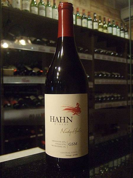 Hahn Central Coast, GSM Wine Blend, 2009
