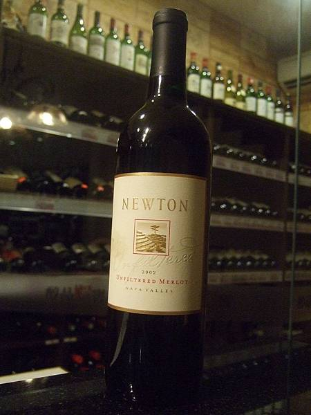 Newton Unfiltered Merlot 2002