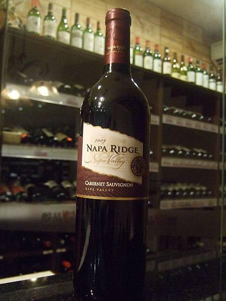 Napa Ridge Cabernet Sauvignon, 2009