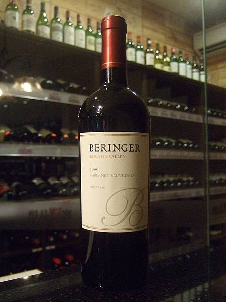 Beringer Knights Valley CS 2006