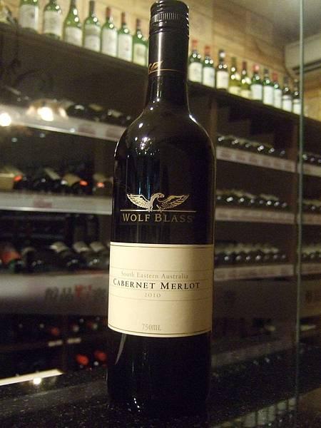 Wolf Blass White Label Cabernet Merlot, 2010