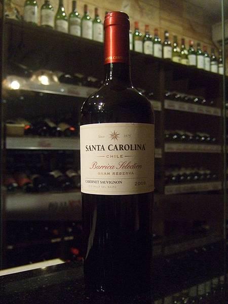 Santa Carolina Barrica Selection Gran Reserva Cabernet Sauvignon 2009