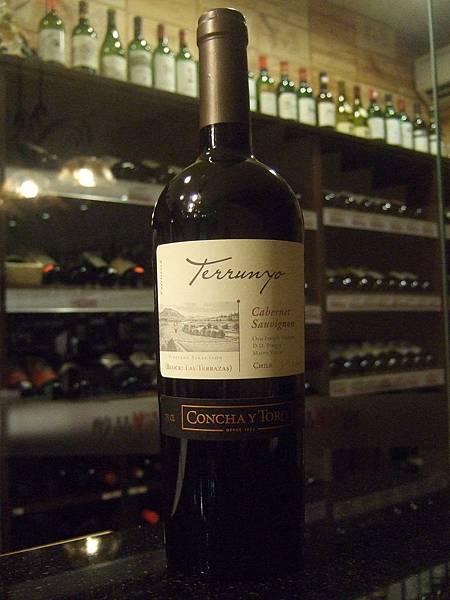 Concha y Toro Cabernet Sauvignon Terrunyo Block Las Terrazas 2007