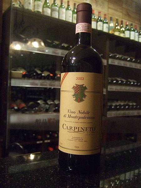 Carpineto Vino Nobile Di Montepulciano 2003