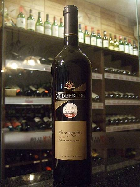 Nederburg Manor House Cabernet Sauvignon 2008