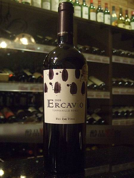 Ercavio Tempranillo Roble 2009