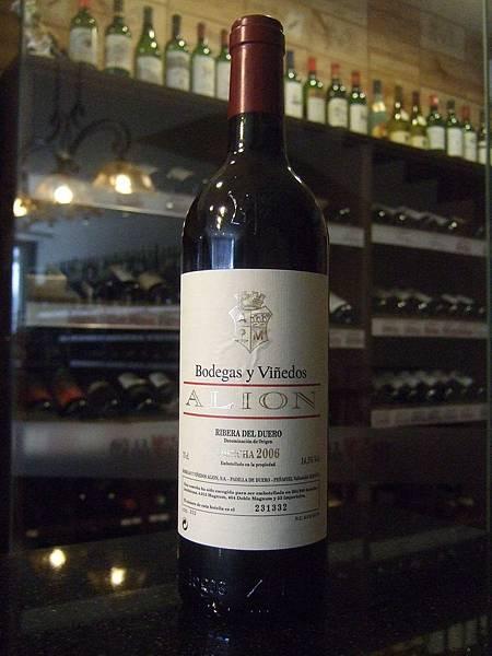 Bodegas y Vinedos Alion Cosecha 2006