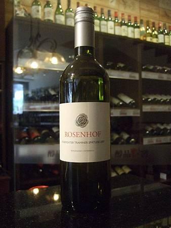 Rosenhof Traminer Spatlese 2007