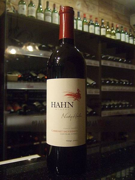 Hahn Central Coast, Cabernet Sauvignon, 2009
