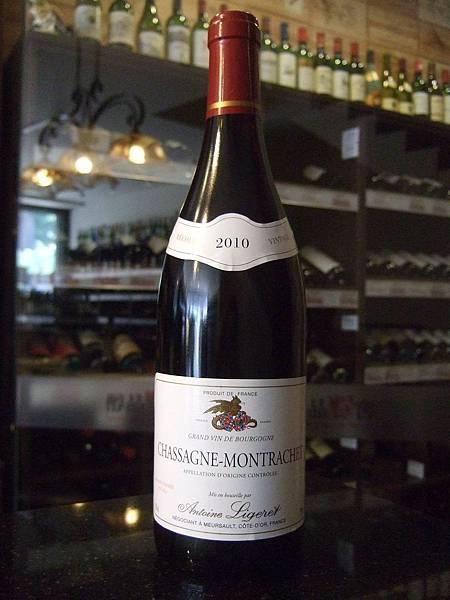 A. Ligeret Chassagne-Montrachet 2010