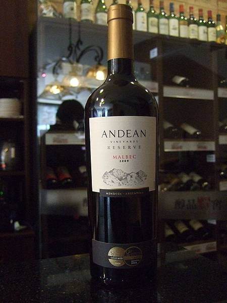 Andean Malbec Reserve 2009