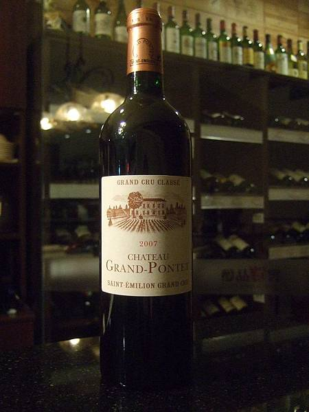 Chateau Grand Pontet Saint-Emilion 2007