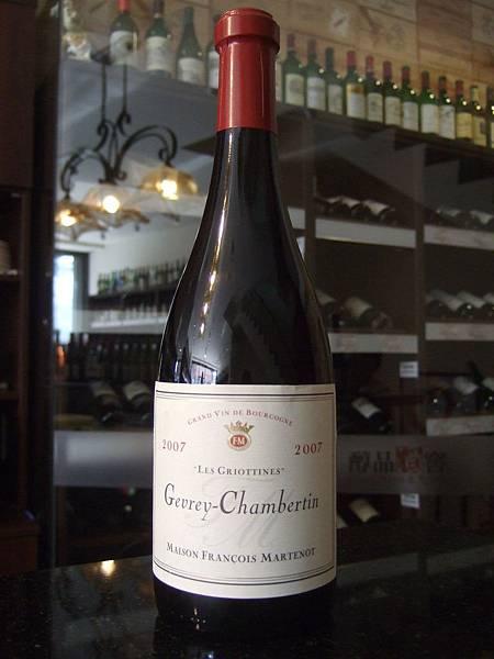 Francois Martenot Gevrey-Chambertin Les Griottines 2007