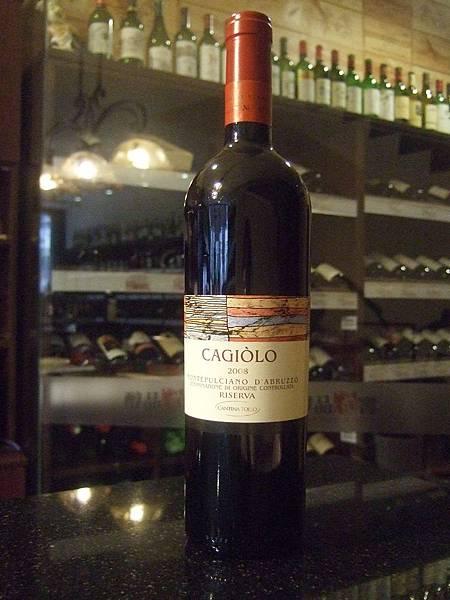 Cantina Tollo Cagiolo 2008