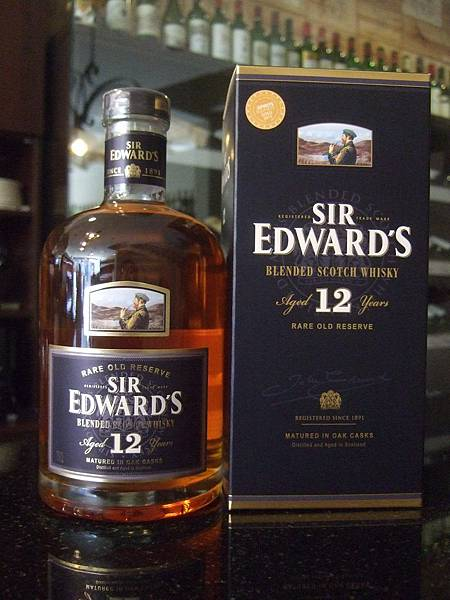 Sir Edward's 12 Years Premium Scotch Whisky