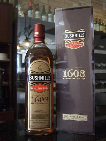 Bushmills Irish Whiskey 1608