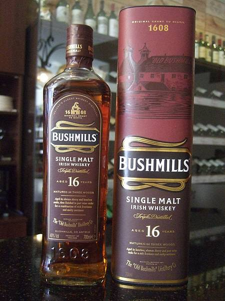 Bushmills Single Malt Irish Whiskey 16Yo