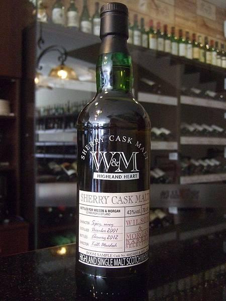 Wilson & Morgan Sherry Cask Scotch Whisky