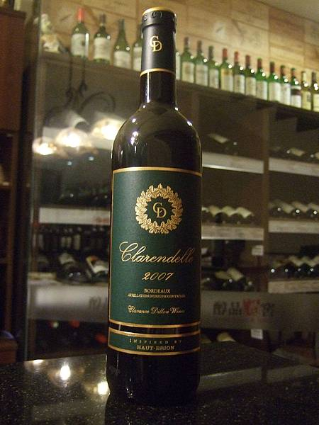Clarendelle Dillon Rouge Bordeaux 2007