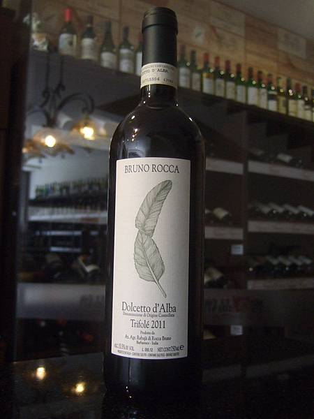 Bruno Rocca Dolcetto Vinga Trifole 2009