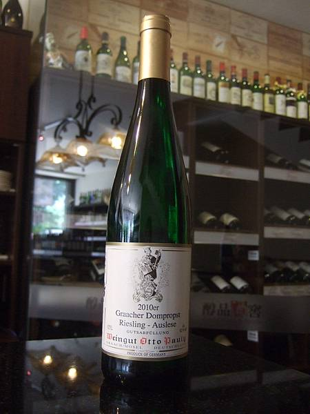 Weingut Otto Pauly Graacher Dompropst Riesling Auslese 2010