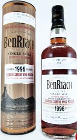 班瑞克1996單一原桶麥芽威士忌 (2)