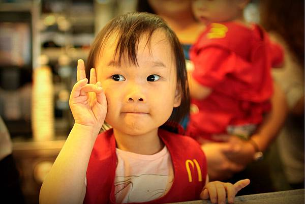 麥當勞小店員