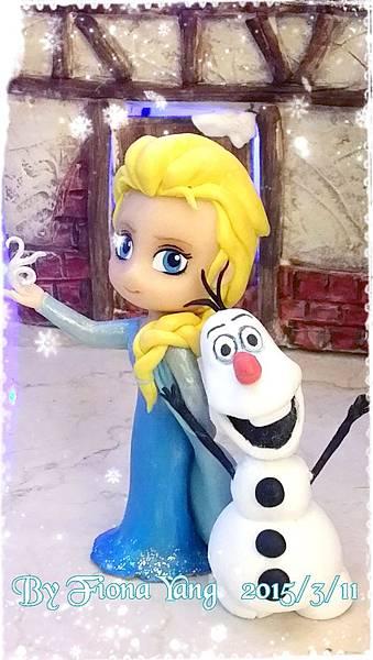 冰雪奇緣-201504-ELSA+雪寶