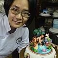 杏仁膏比賽2013-大地之母-蓋亞-入選獎 by Fiona Yang