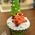 2015-聖誕黏土皂杯子蛋糕-麋鹿