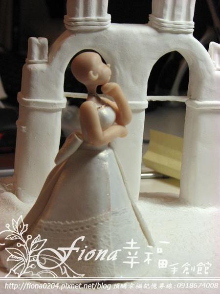 TINA妹的結婚公仔-製作過程大公開