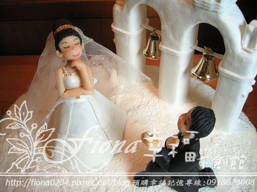 TINA妹結婚公仔