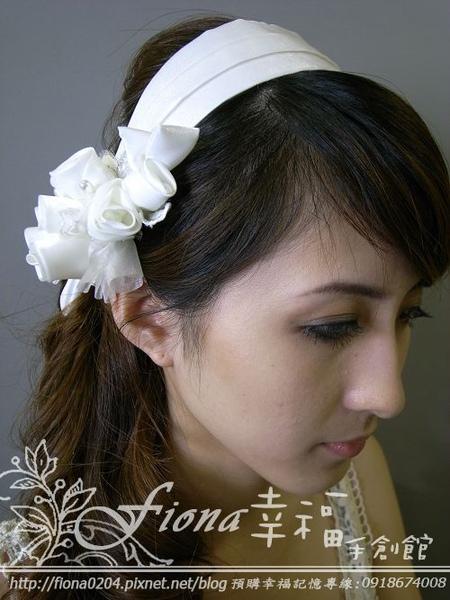白緞髮箍 NT1800