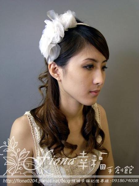 白紗髮箍 NT1800