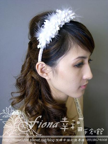 白丁香髮箍 NT1800